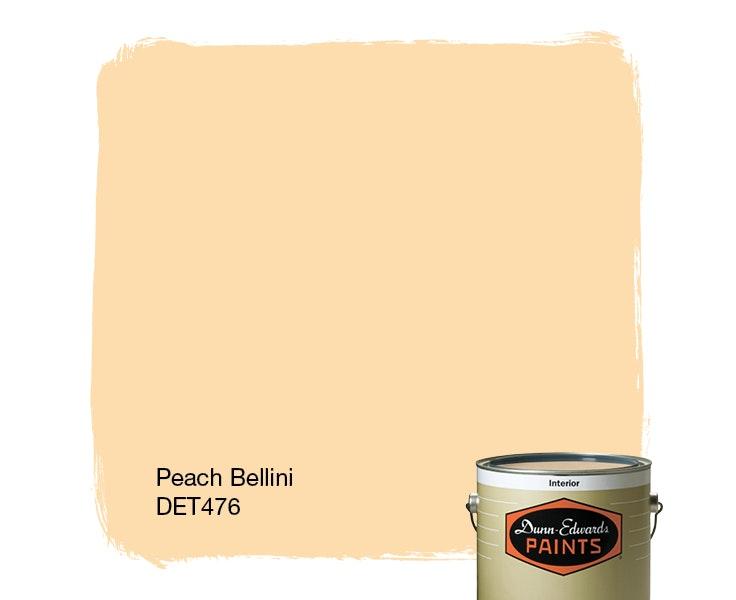 Peach Bellini paint color DET476