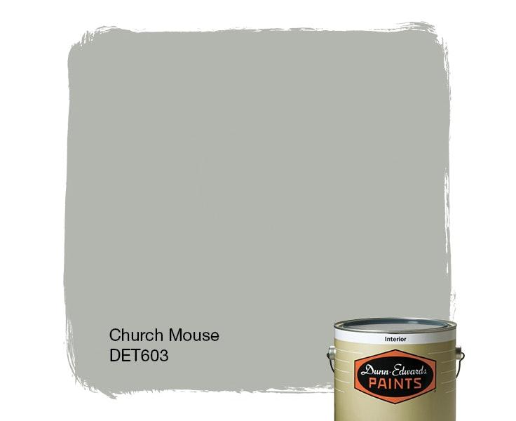 Church Mouse paint color DET603