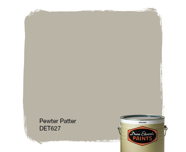 Pewter Patter paint color DET627