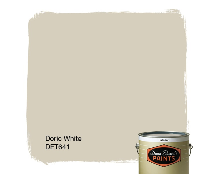 Doric White paint color DET641