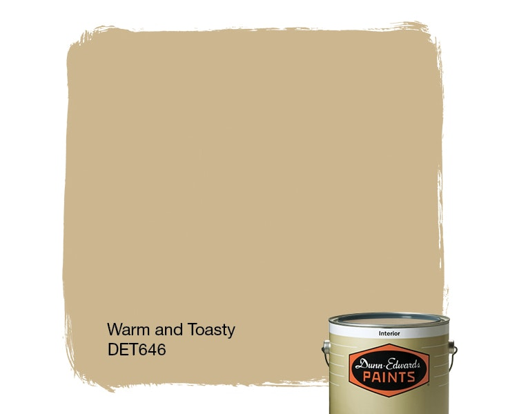 Warm and Toasty paint color DET646