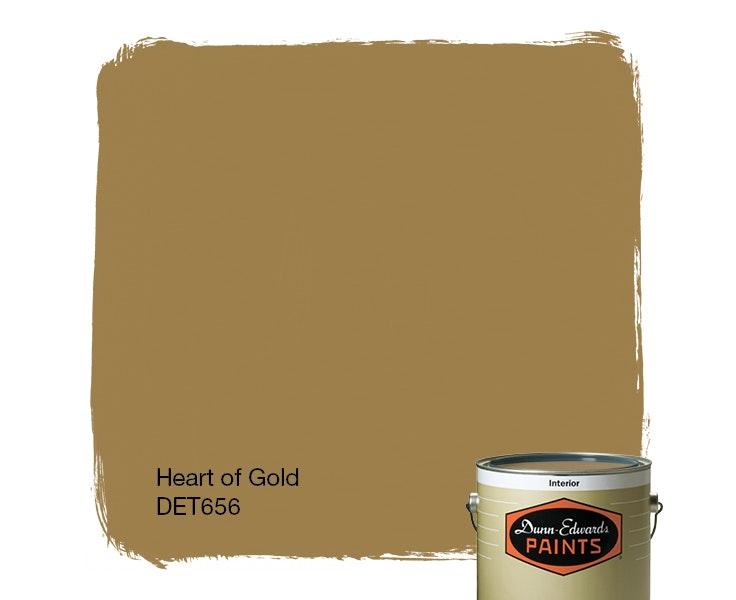 Heart of Gold paint color DET656