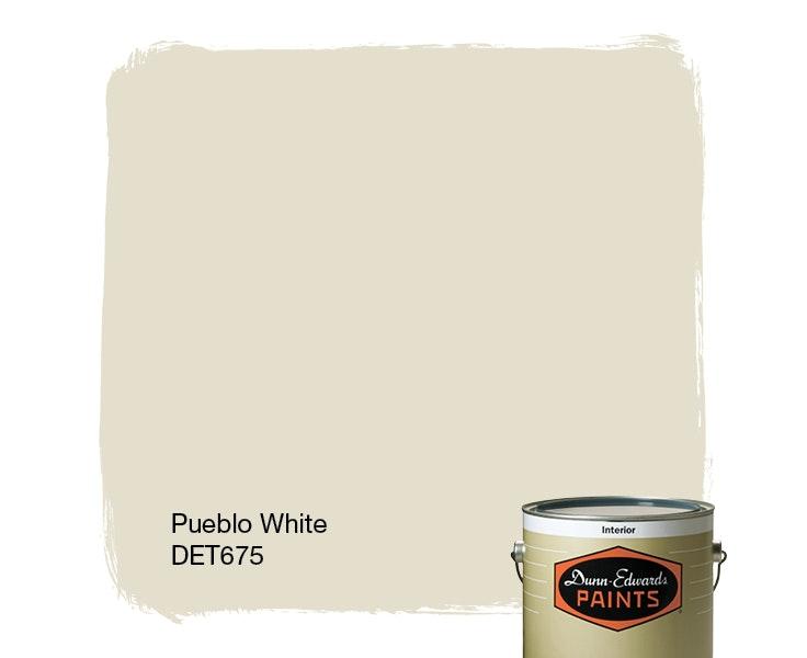 Pueblo White paint color DET675