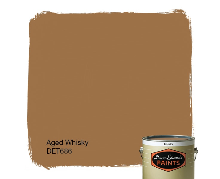 Aged Whisky paint color DET686
