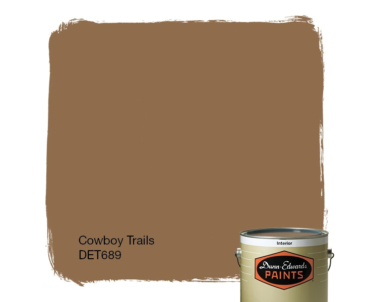 Cowboy Trails paint color DET689