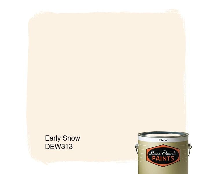 Early Snow paint color DEW313