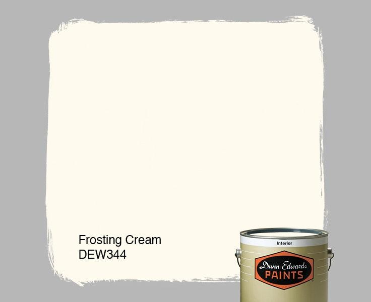 Frosting Cream paint color DEW344