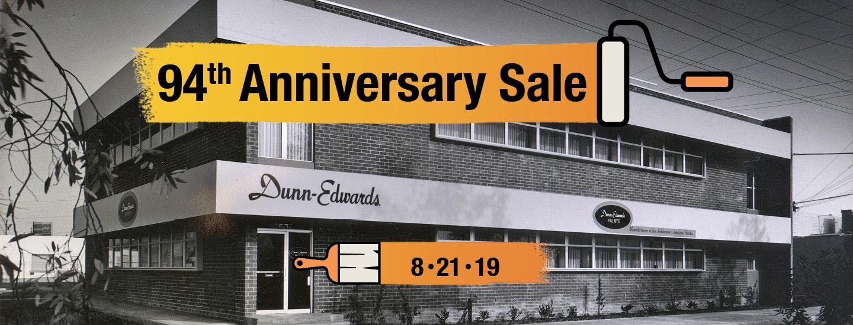 94th Anniversary Sale Flyer